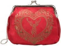 Vorschau: Rahmentasche Trachtentasche rot