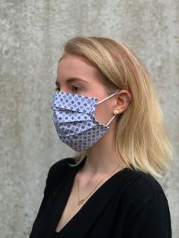 Mund-Nasen-Maske Ella blau