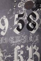 T-Shirt Trademark 1958 anthrazit