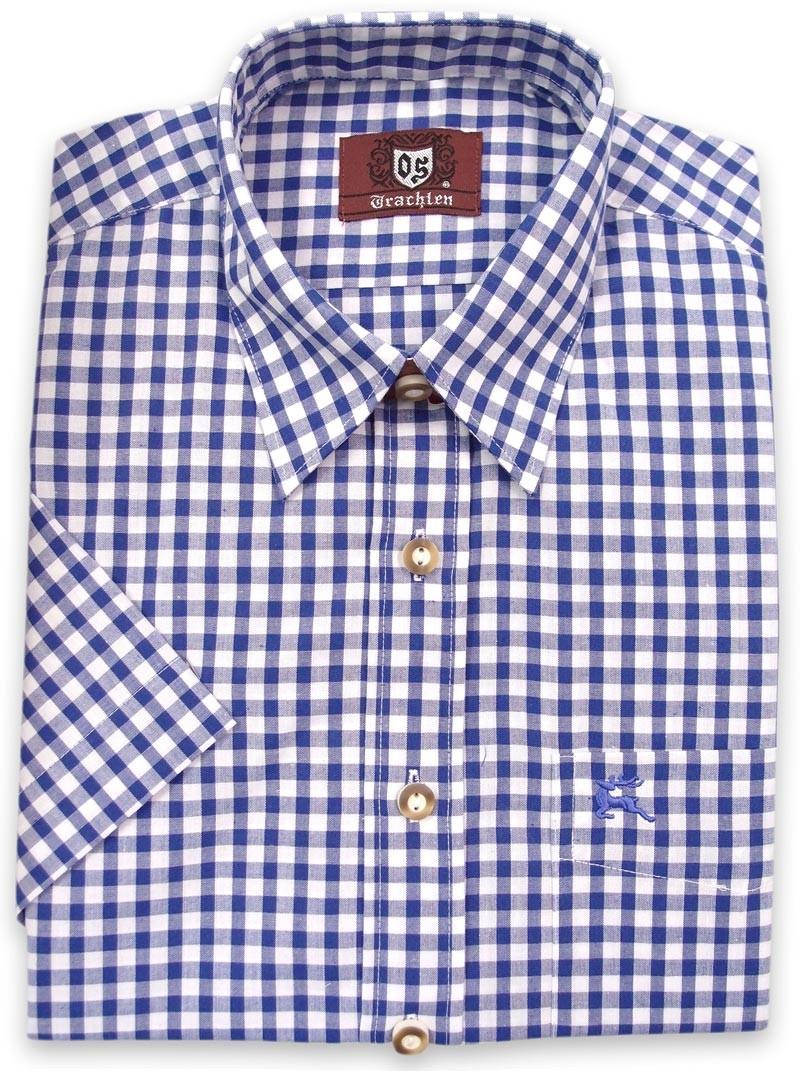 Trachtenhemd Rodrigo blau