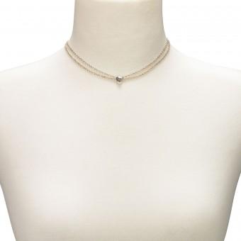 Trachten Halskette Adelina silber