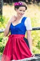 Preview: Dirndl Dolores, blue
