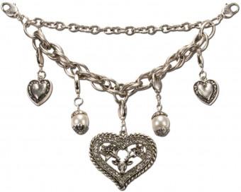 Charivari Chain with Deer-Heart Pendant