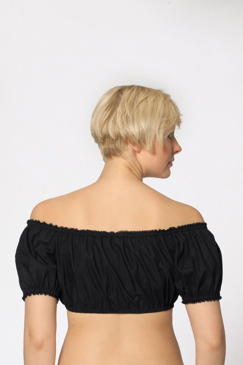 Bluzka Dirndl Aline czarna