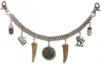Charivari Chain Alois, Antique Silver