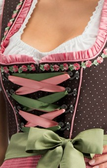 Dirndl Patty in brown