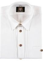 Vorschau: Herrenhemd Korbinian weiß