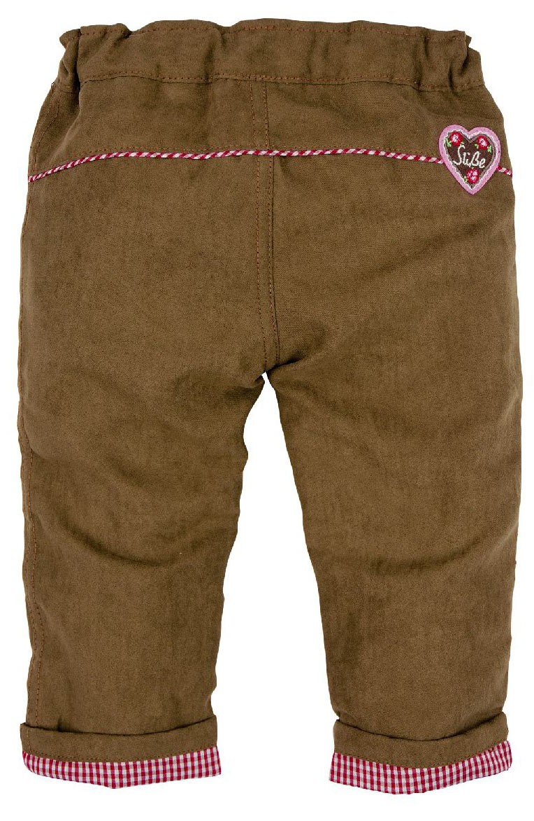 "Spodnie ze sztucznej skóry ""Alpenglück"""
