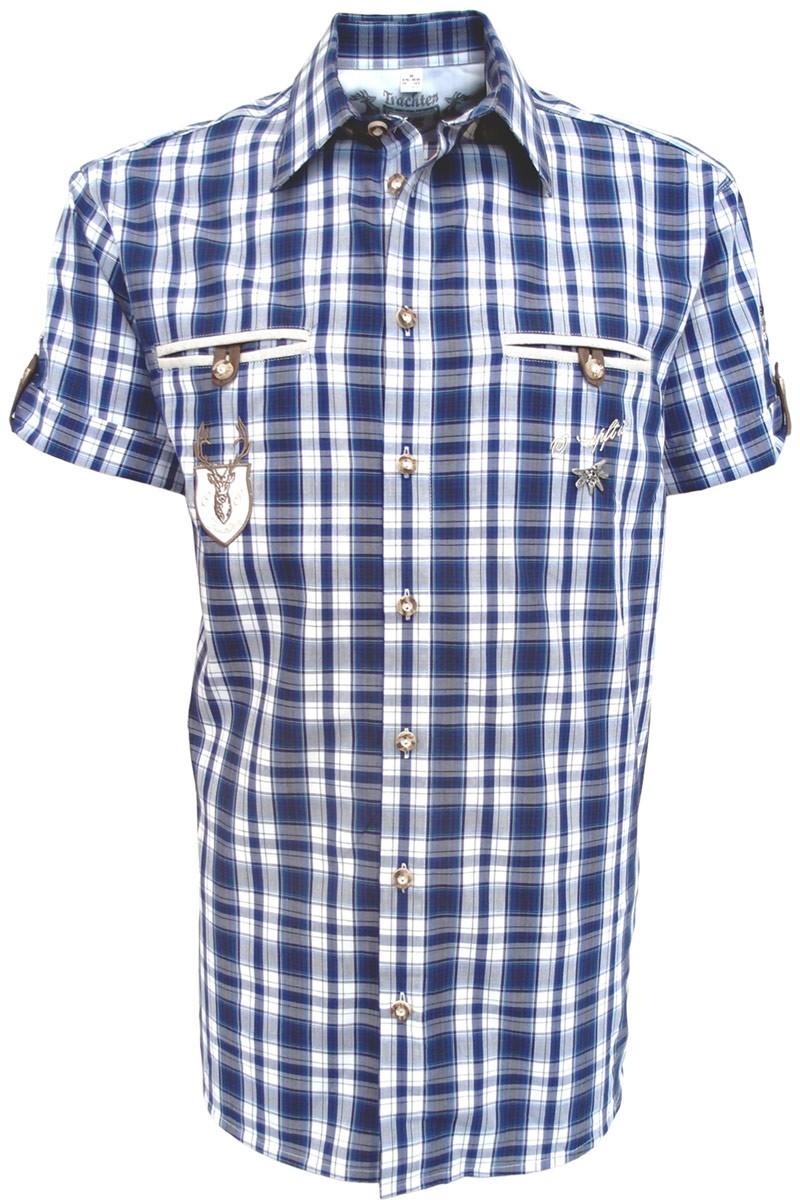 Koszula męska Fidl ciemnoniebieska