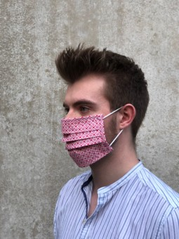 Mund-Nasen-Maske Tilli rot