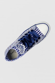 Damensneaker Floret Blue