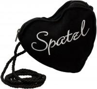 Vorschau: Dirndl-Herztasche Spatzl schwarz