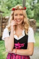 Preview: Dirndl Celine, pink