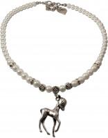 Vorschau: Perlenkette Juliana cremeweiß