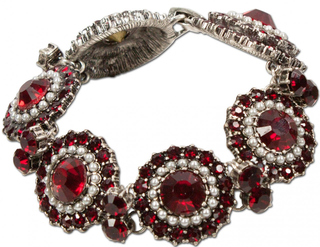 Trachten Armband Pia rot