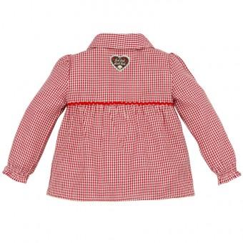 Koszula w kratę (koszula dziecięca)