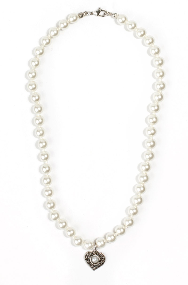 Perlencollier Herzallerliebst