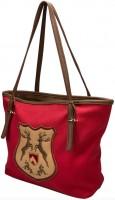 Vorschau: Trachten Handtasche mit Hirschwappen rot
