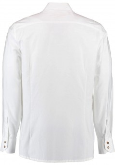 Trachtenhemd Albert weiß