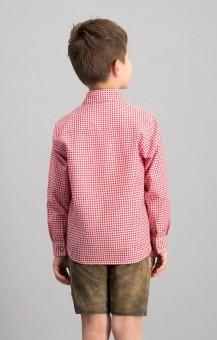 Trachtenhemd Dave jr. in rot