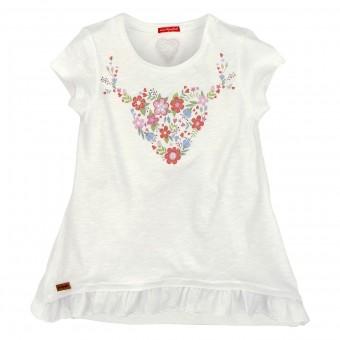 T-Shirt 'Trachtenherz' (Kids T-Shirt 1/2 Arm)