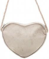 Widok: Herztasche Trachtentasche beige