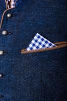 Vorschau: Weste Platzhirsch blau