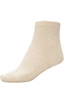 Children's costume socks beige