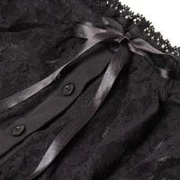 Vorschau: Dirndlbluse Luana schwarz