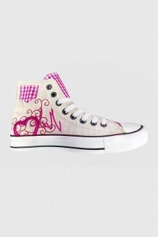 Sneaker Pink Heart
