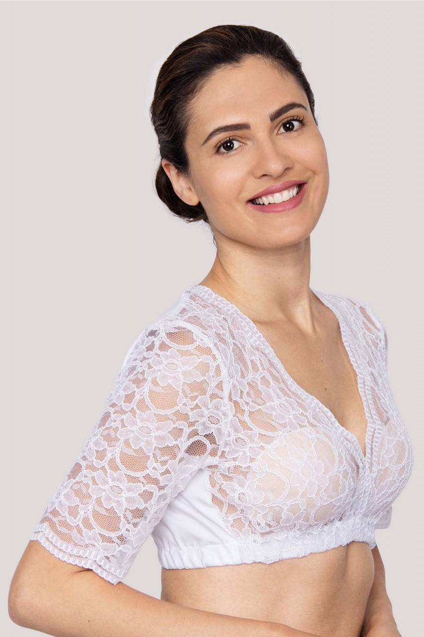 Bluzka Dirndl Suri biała