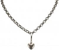 Preview: Trachten Mini Amulet Heart, Antique Silver