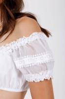 Vorschau: Dirndlbluse White Glitter