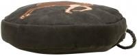 Vorschau: Trachten Rundtasche mit Hirsch-Stickerei schwarz