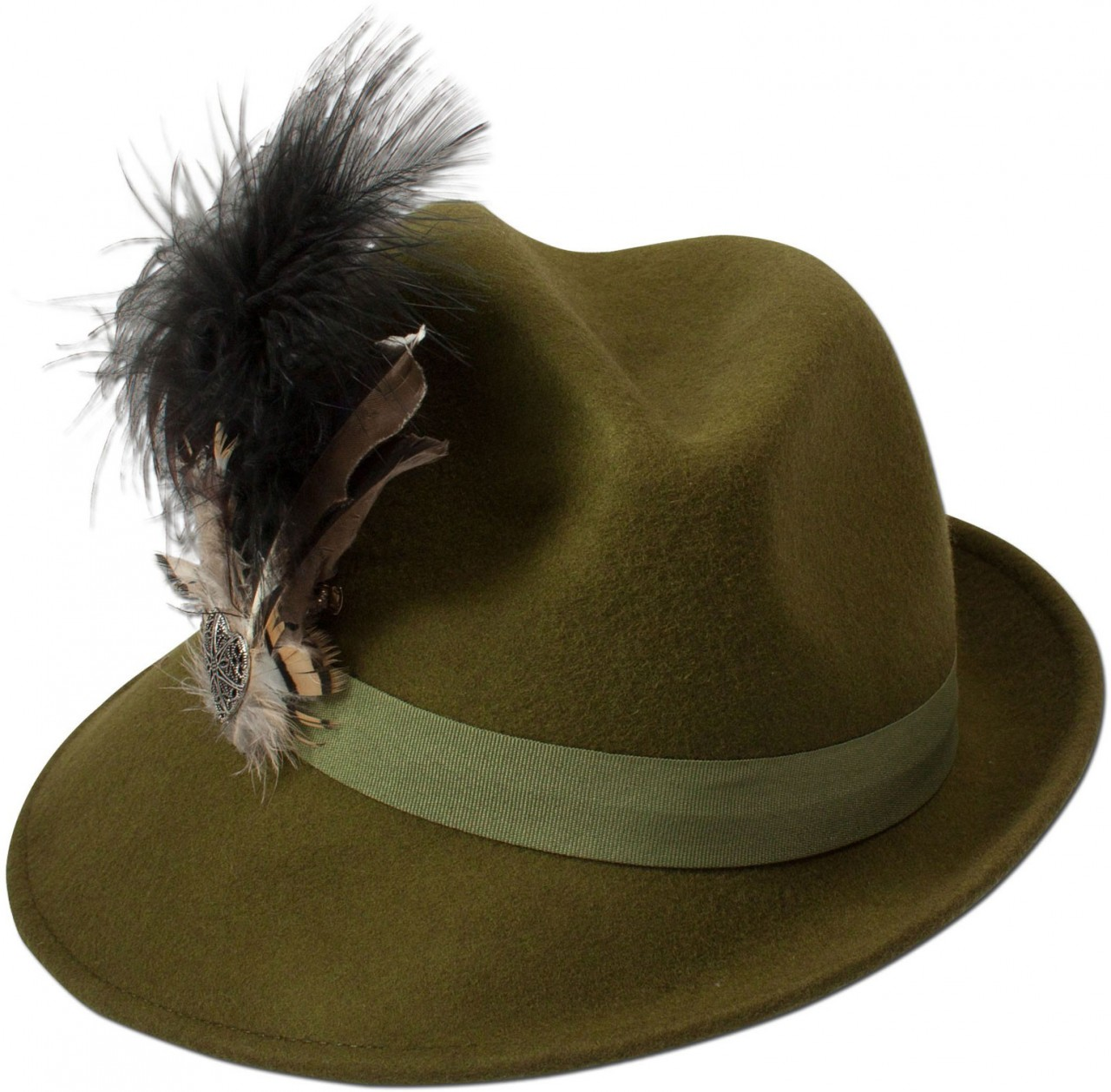 Filz-Trachtenhut Otilia grün