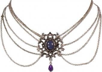 Collier Eleonore lila