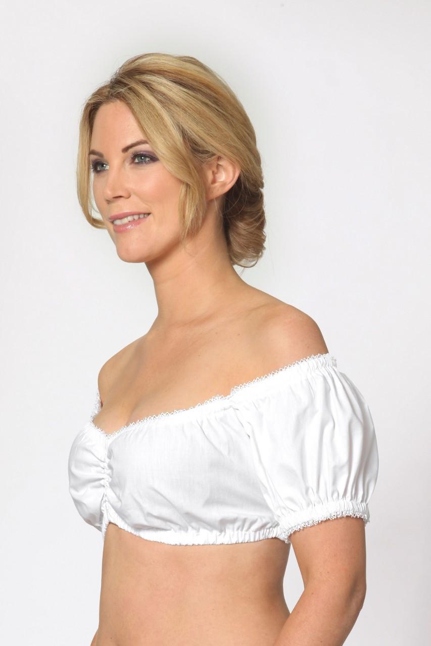 Dirndl blouse Aline wit