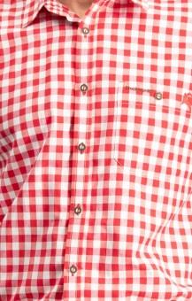 Langarmhemd Mitchel rot