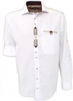 Trachtenhemd Silo weiß