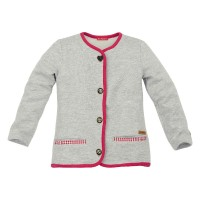 Kids Sweatjacke 'Miss Alpenglück'