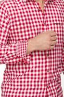 Vorschau: Langarmhemd Mitchel rot
