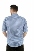 Preview: Traditioneel shirt Philipp blauw