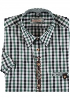 Men's shirt Hartmann green