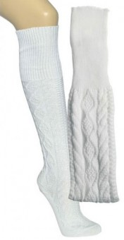 Trachten Stockings, White