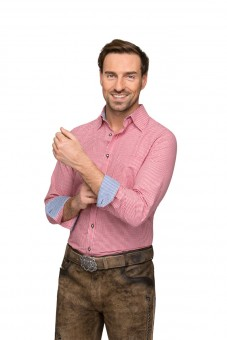 Langarmhemd Dave rot