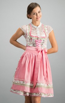 Dirndl Astoria in rosé
