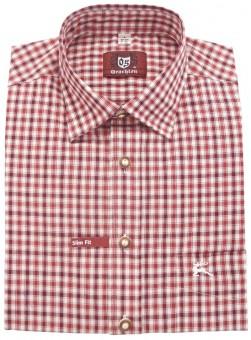 Trachtenhemd Robb rot