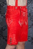 Vorschau: Lederhose Sebastian rot