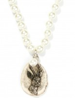 Vorschau: Perlencollier Rehbock