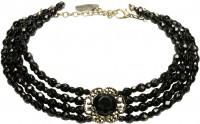 Vorschau: Trachten-Perlenkette Ellie schwarz